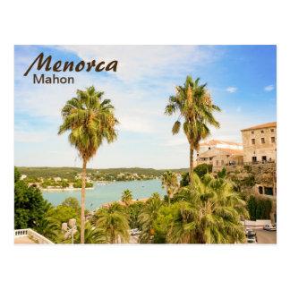 Menorca Mahon Postcard