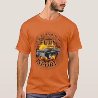 Men's 1963 Plymouth Fury Sport Shirt. T-Shirt