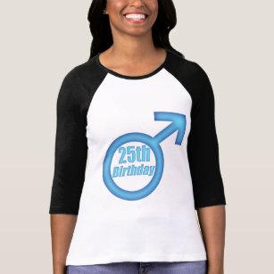Mens 25th Birthday Gifts T Shirt