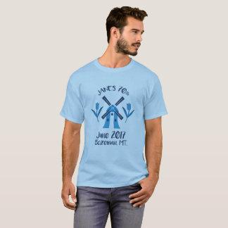 Men's 70th logo birthday T-shirt