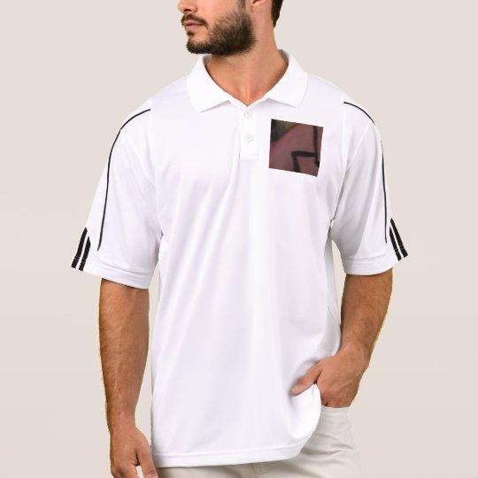 Men's Adidas Golf Polo Shirt with abstract design