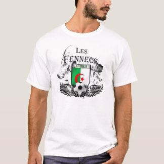 Mens Algerie Les Fennecs Football badge shirt