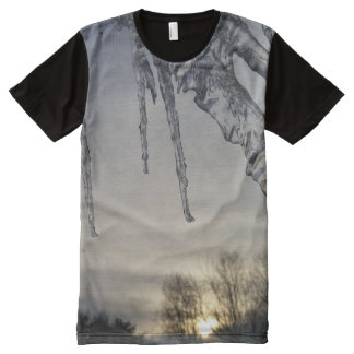 Men's American Apparel All-Over Printed Panel T-Sh All-Over-Print T-Shirt