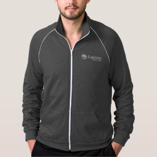 Men's  American Apparel Fleece Track Jacket (f/z)