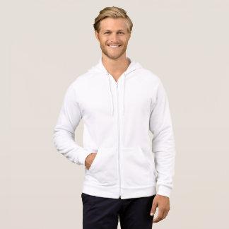 Men's American Apparel Fleece Zip Hoodie