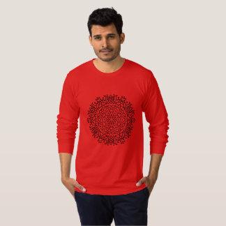 Mens american apparel jerse with Mandala T-Shirt