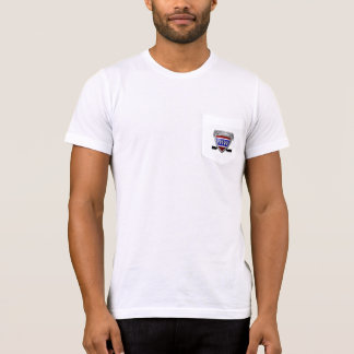 Men's American Apparel Pocket T-Shirt (THW)