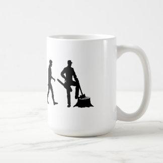Mens and womens Lumberjack forestry work Coffee Mug