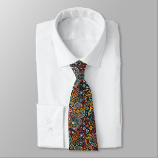 Mens Artistic Abstract Neck Tie