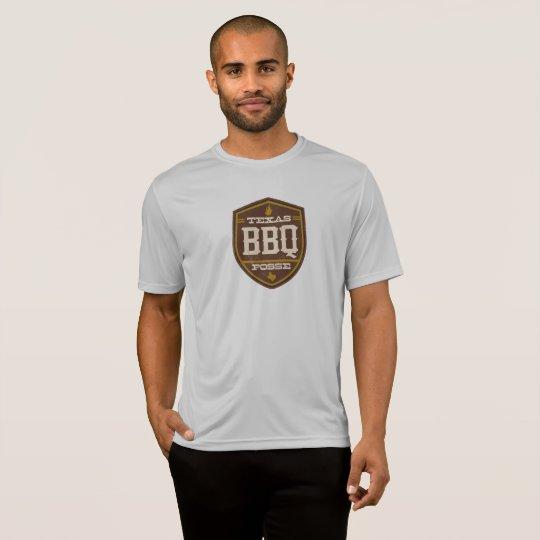 Men's Athletic T-Shrit - Texas BBQ Posse Logo T-Shirt