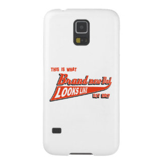 Men's baby announcement tees case for galaxy s5