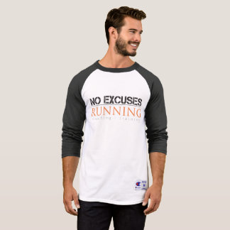 Men's Baseball Style No Excuses Athletic Shirt