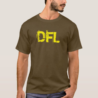 Men's Basic Brown and Yellow color T-shirt