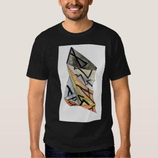 Men's Basic Dark T-Shirt w/design size ex large