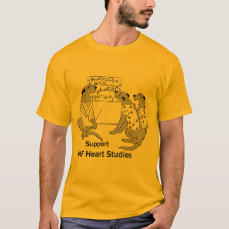 Men's Basic Heart Study T-Shirt