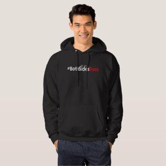 Men's Basic Hooded Sweatshirt - #BothSidesDont