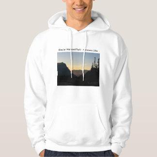 Men's Basic Hoodie Glacier National Park Sunrise