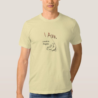 Mens basic- I am a work in Progress T Shirt
