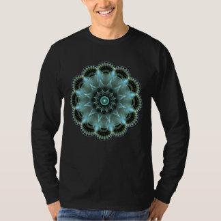 Men's Basic Long Sleeve Sacred Geometry T-Shirt