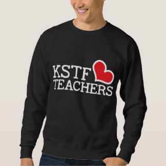 Men's Basic Sweatshirt, Black - Heart Sweatshirt