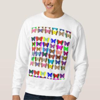 Men's Basic Sweatshirt Butterfly