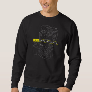 Men's Basic Sweatshirt I am Nikon Camera