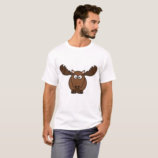 Mens Basic T-shirt Moose