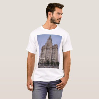 Men's Basic T-Shirt - With Liverpool Pictures