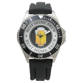 Mens Beer Theme Watch