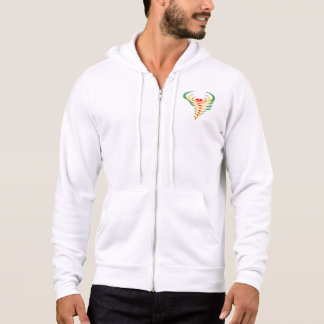 Men's Bella+Canvas Full-Zip Hoodie toddnado