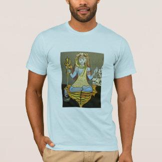 Men's Bhairava Shiva Tee Light Blue