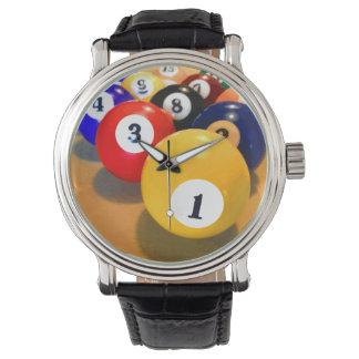 Men's Billiards Theme Watches