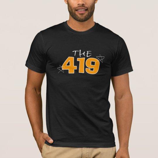 Mens black 419 T-Shirt