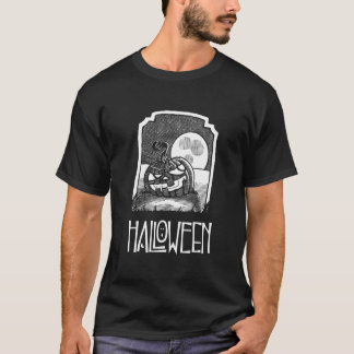 Men's Black Halloween T-Shirt