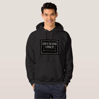 Mens Black Hooded sweatshirt