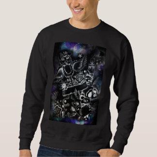 mens black sweater