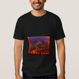 Men's Black T-shirt with Chinese Dragon