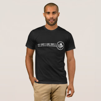 Men's Black T T-Shirt
