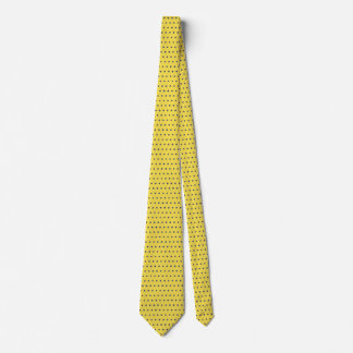 Men's Blue and Yellow Tie