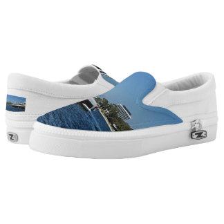 Men's boat slip on shoes