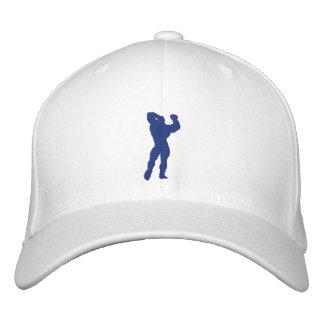 Mens Bodybuilding Pose Baseball Cap