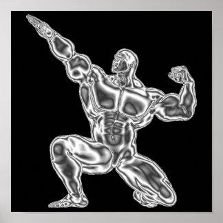 Mens Bodybuilding Poster