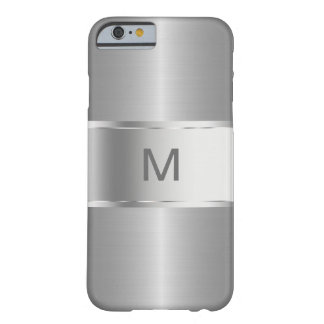 Men's Business Monogram Smartphone Barely There iPhone 6 Case