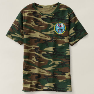 Mens Camouflage Patch Logo Shirt
