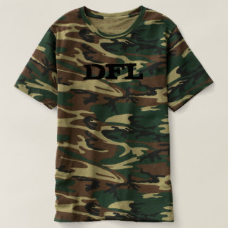 Men's Camouflage T-Shirt DFL logo