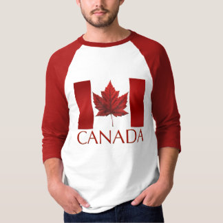 Men's Canada Flag Baseball Jersey Souvenir Shirt