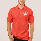 Men's Canada Flag Polo Shirt Personalized Shirt