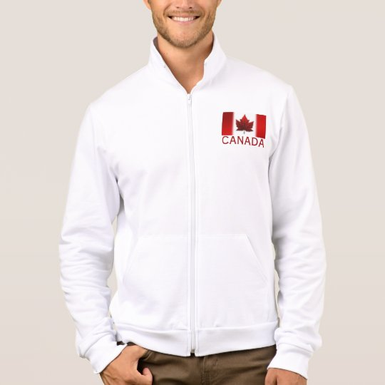 Men's Canada Jacket Personalized Canada Sport Gear