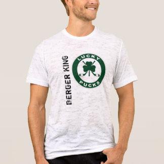 Men's Canvas Fitted Burnout T-Shirt, Vintage White T-Shirt