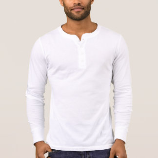 Men's Canvas Henley Long Sleeve Shirt